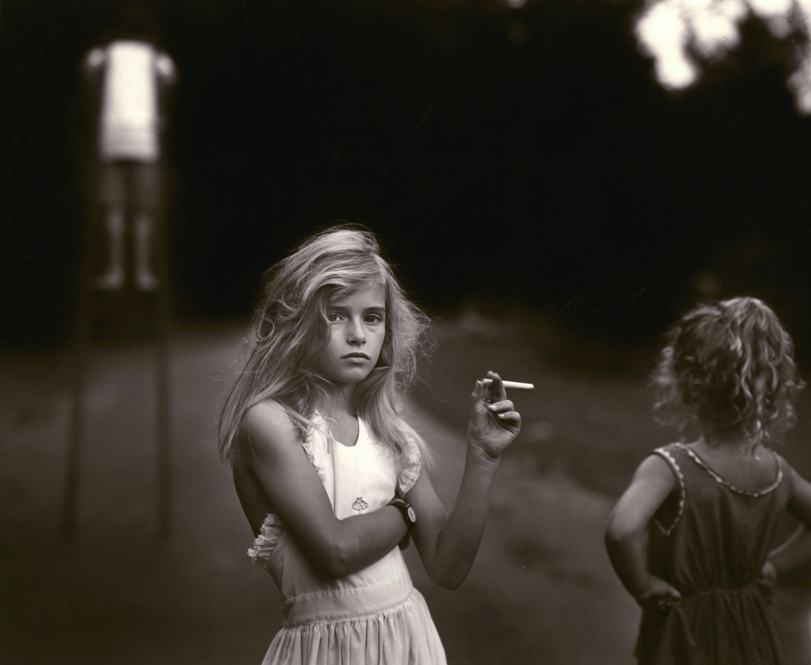 """Candy Cigarette"", Sally Mann. Foto: sallymann.com."