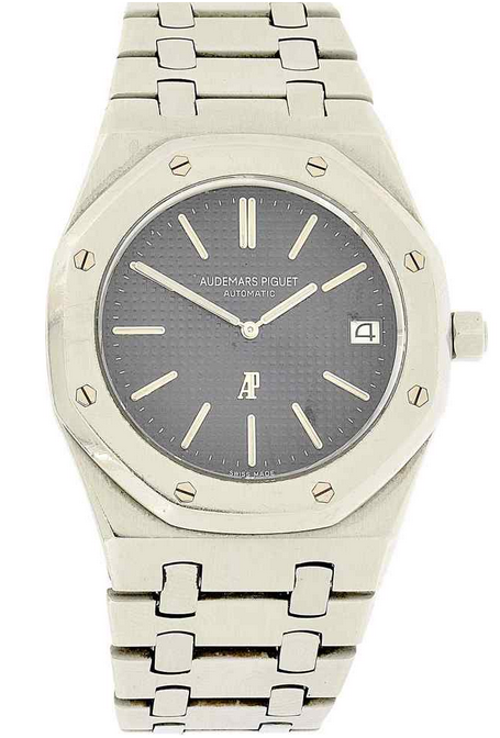"AUDEMARS PIQUET - Armbanduhr ""Royal Oak"" aus Stahl, Le Brassus ca. 1974 Schätzpreis: 18.000-25.000 CHF"
