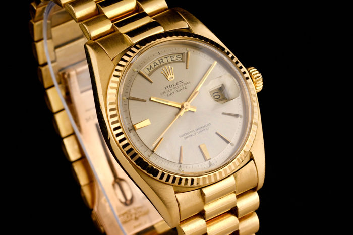 Rolex President Oyster Perpetual Day Date, , Gelbgold, 1970er Jahre