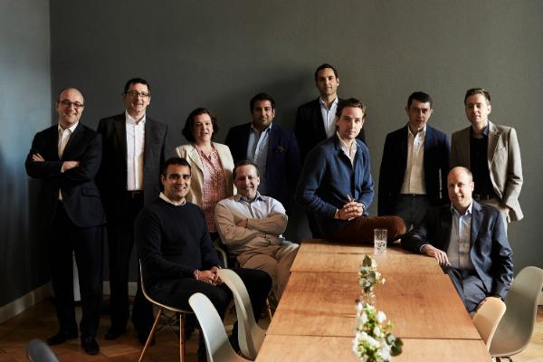 Les deux management teams de Paddle8 et Auctionata Image via ArtnetNews