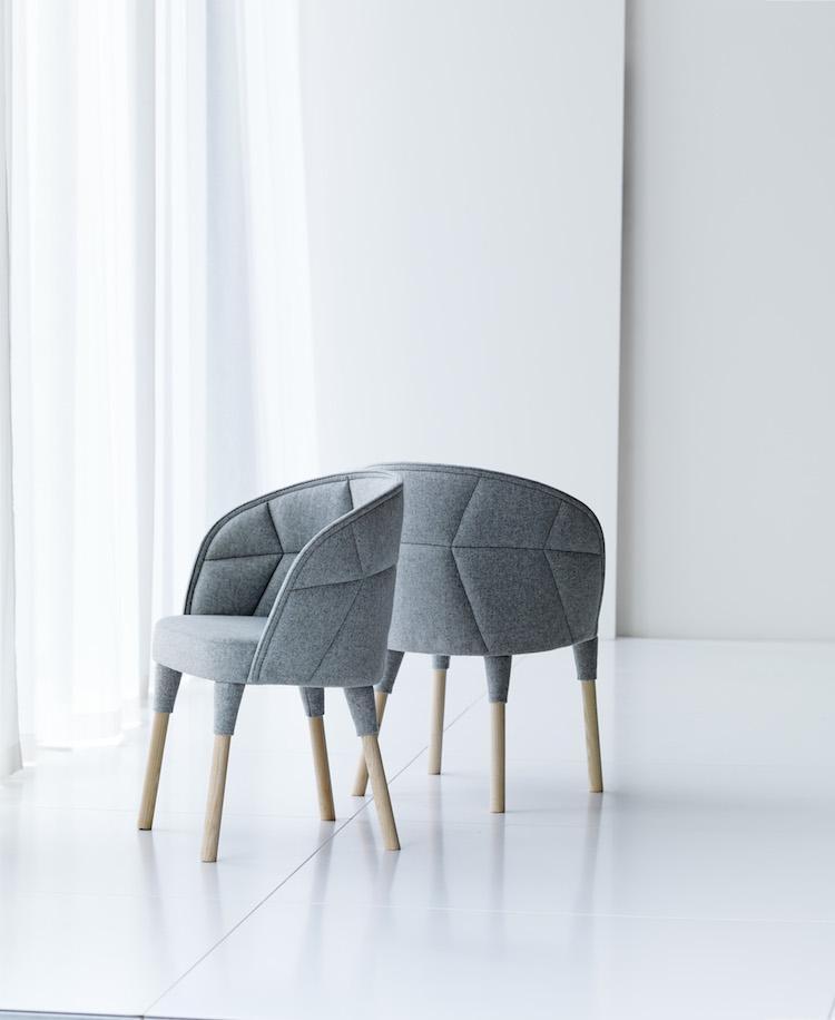 Fåtöljen Emmas lillasyster karmstolen Emily lanserades i fjol på Stockholm Furniture Fair.