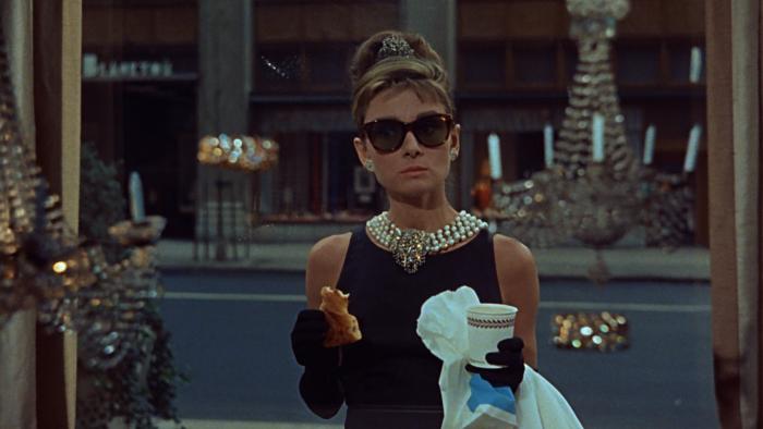 Audrey Hepburn dans Breakfast at Tiffany's. Photo: Steven Benedict