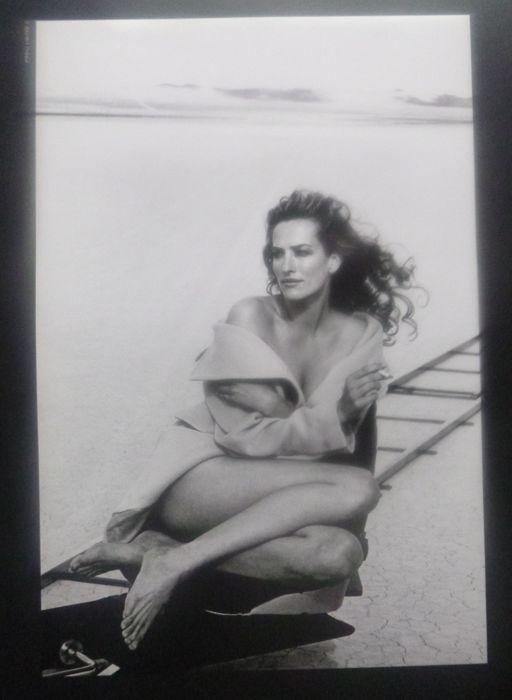 Tatjana Patitz im Pirelli-Kalender 1996. Fotograf: Peter Lindbergh