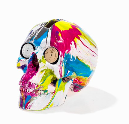 Damien Hirst, The Hours Spin Skull, Sculpture, 2009 Auctionata