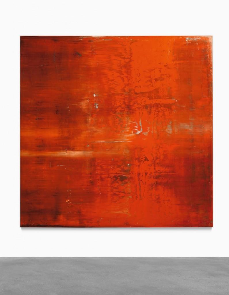 """""""Abstraktes Bild"""" von Gerhard Richter erzielte im Mai bei Sotheby's 16,6 Millionen USD   Foto: ©Sotheby's"""