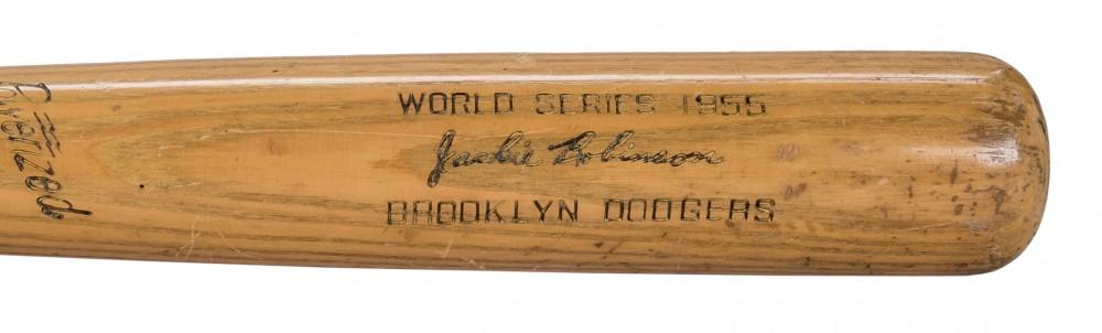 Jackie Robinson game bat