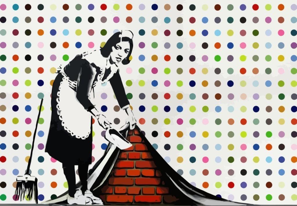 Banksy, Keep It Spotless, 2007 | Foto: Sotheby's