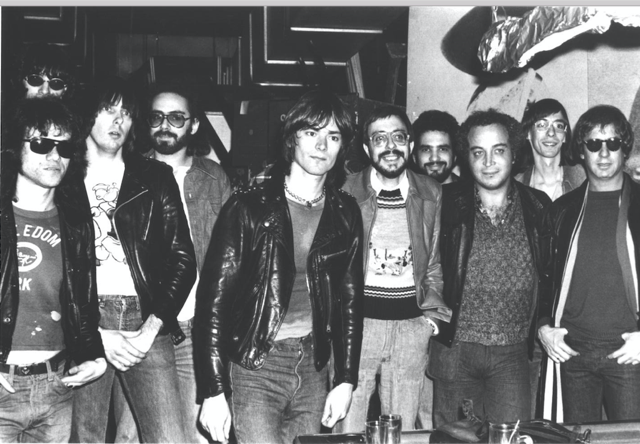 Seymour in the 1970s (front, second from right)