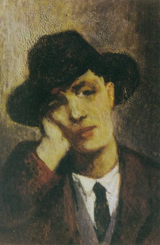 Jeanne Hébuterne (1898-1920) - Portrait von Amedeo Modigliani, 1919 | Abb. via Wikipedia