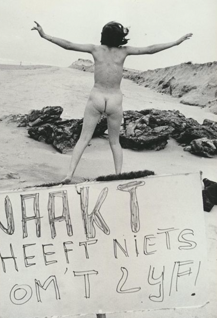 Union Amsterdam, Nudist beach Protest, 1960s