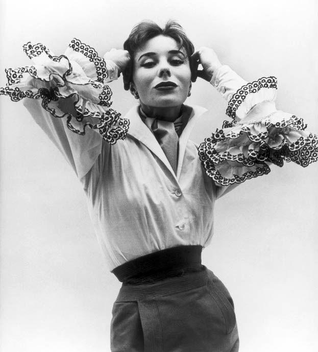The Bettina Blouse worn by Bettina Graziani, 1952