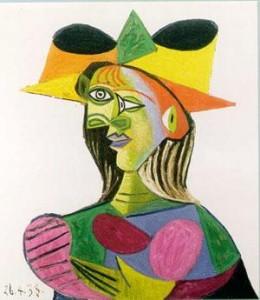 Buste du Femme (Dora Maar), Pablo Picasso. 1938.