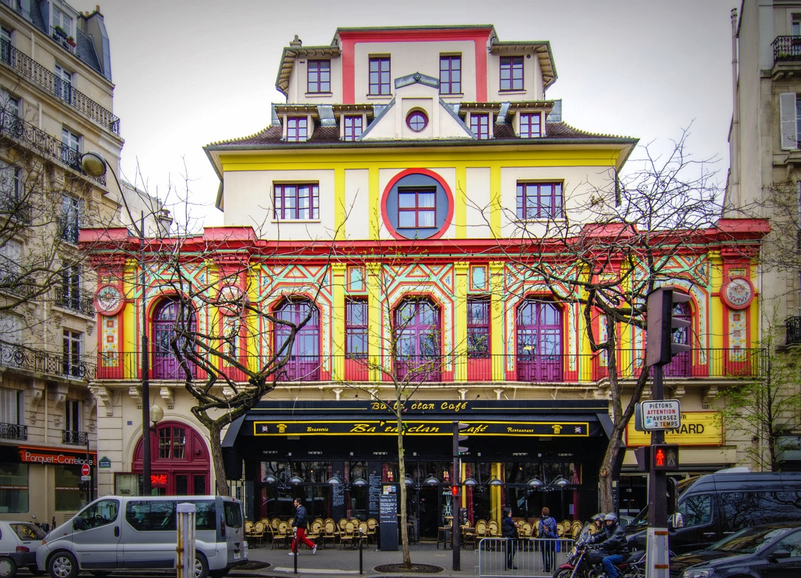 La salle de spectacle du Bataclan à Paris Photo: courtesy Utopia Paris