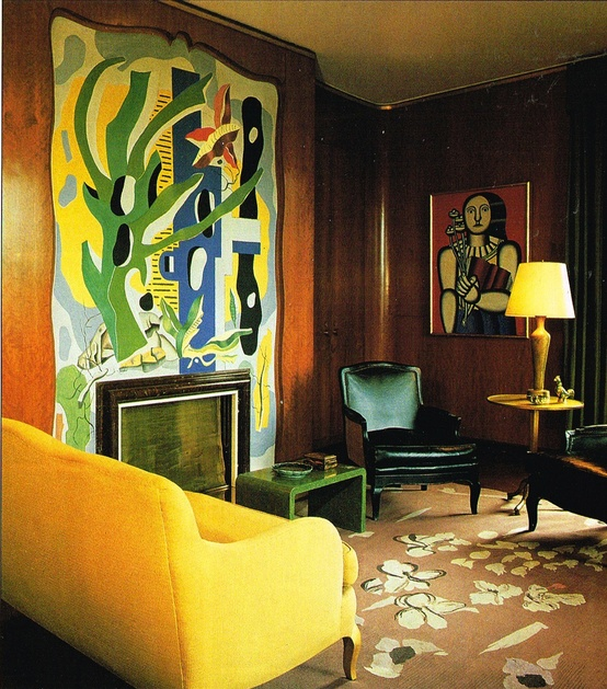 Nelson Rockefeller's New York apartment designed by J-M Frank in 1937. 03