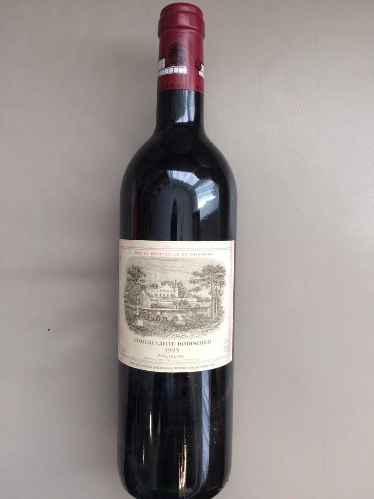 Ch. Lafite Rotschild 1995 Mindestpreis: 750 EUR
