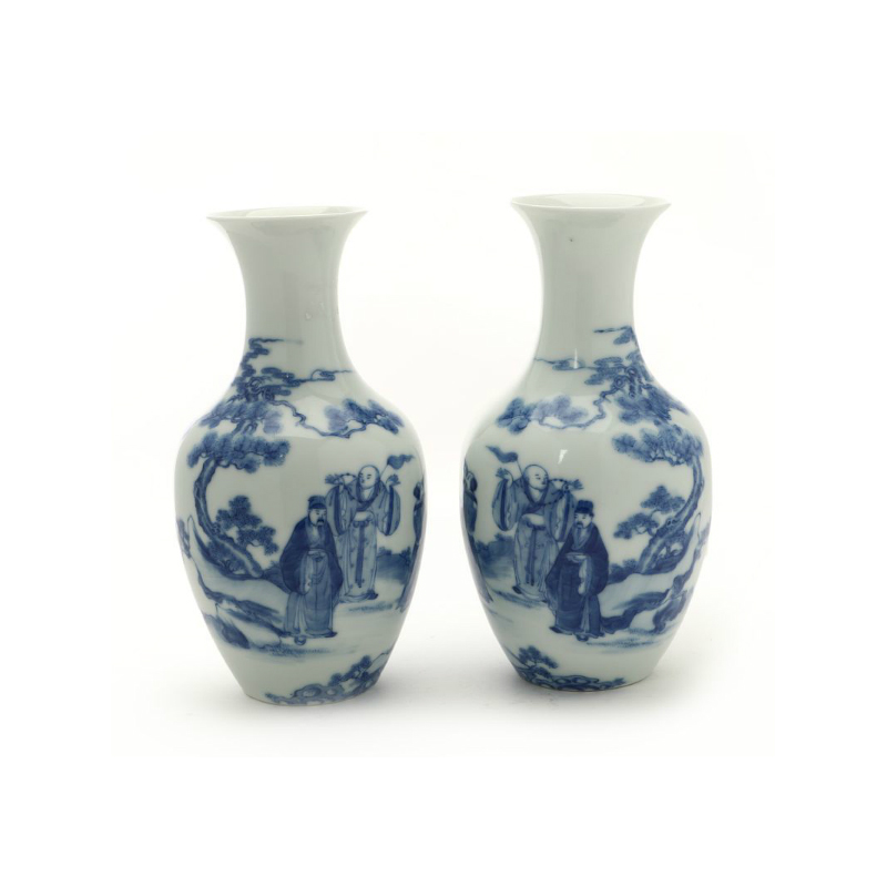 Kinesiska porslin vaser Utropspris: 25 000 SEK Bruun Rasmussen