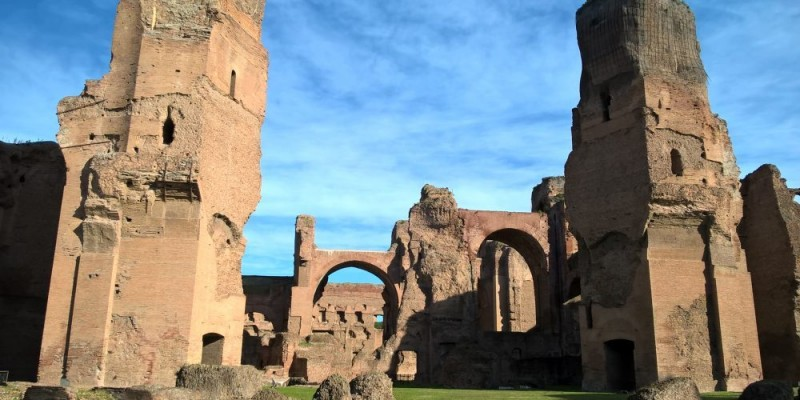 Le Terme di Caracalla. Immagine via culturalmente.it