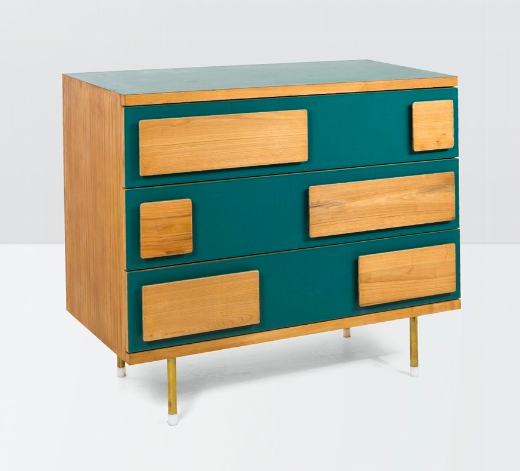 Gio Ponti, Sideboard in Wood and Laminated Wood. Photo: Cambi Casa d'aste