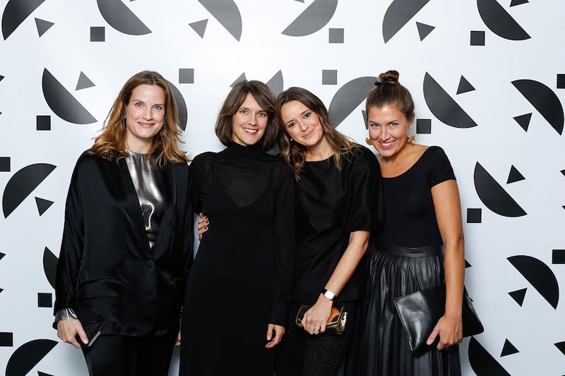 Dynamisk kvartett deltog på Hasselblad Award 2017 – Jenny Segergren, Modepodden, Kerstin Hamilton, fotograf, Dragana Vujanovic Östlind, Hasselbladstiftelsen och Vanja Hermelin, Röhsska museet