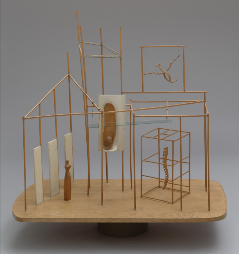 4. Giacometti's, Le Palais à 4 heures du matin, (1932). image ©MoMA