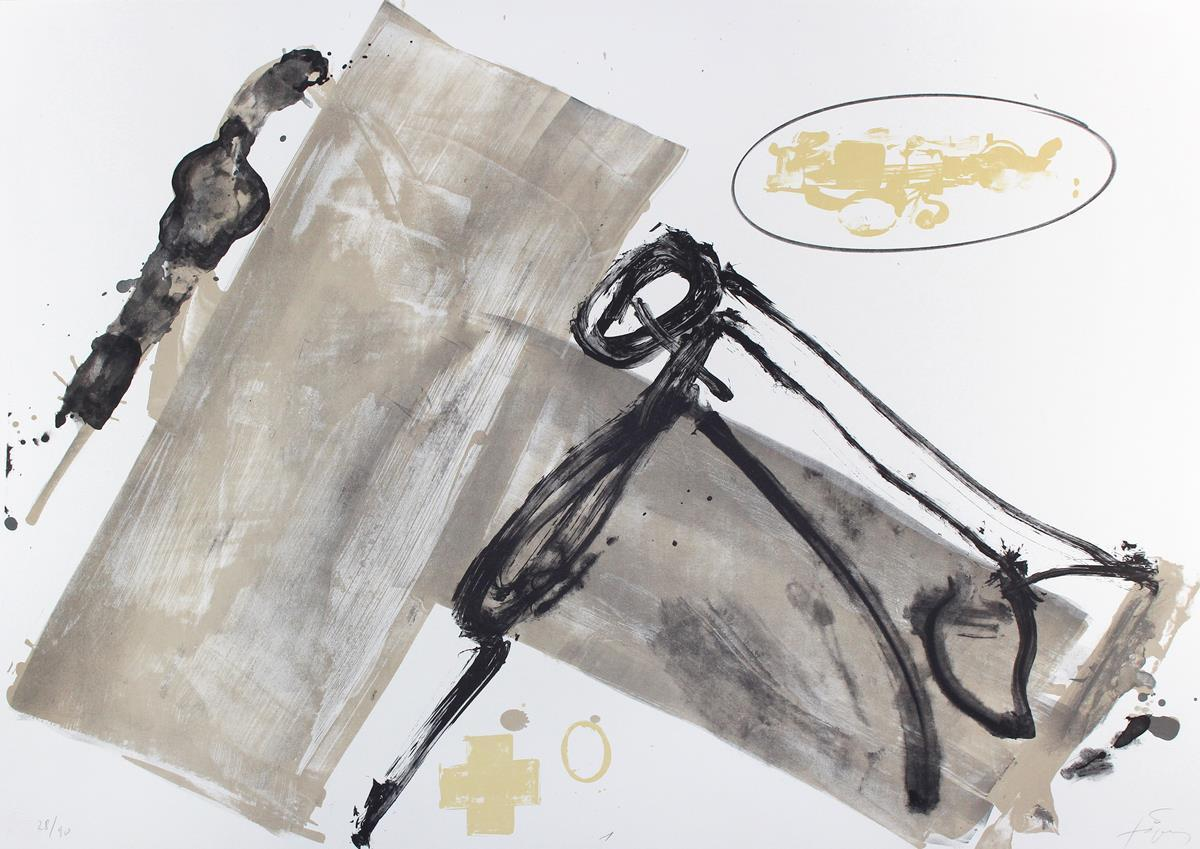 Antoni Tàpies, Suite, 1980