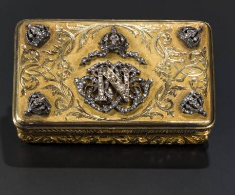 Maximilien Ier du Mexique (1832-1867) - tabatière en or Estimation: 15.000 EUR