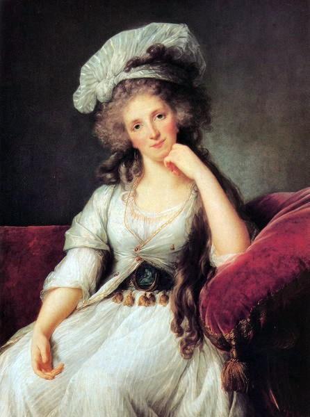 Portrait de la Duchesse d'Orléans par Mme Vigée le Brun