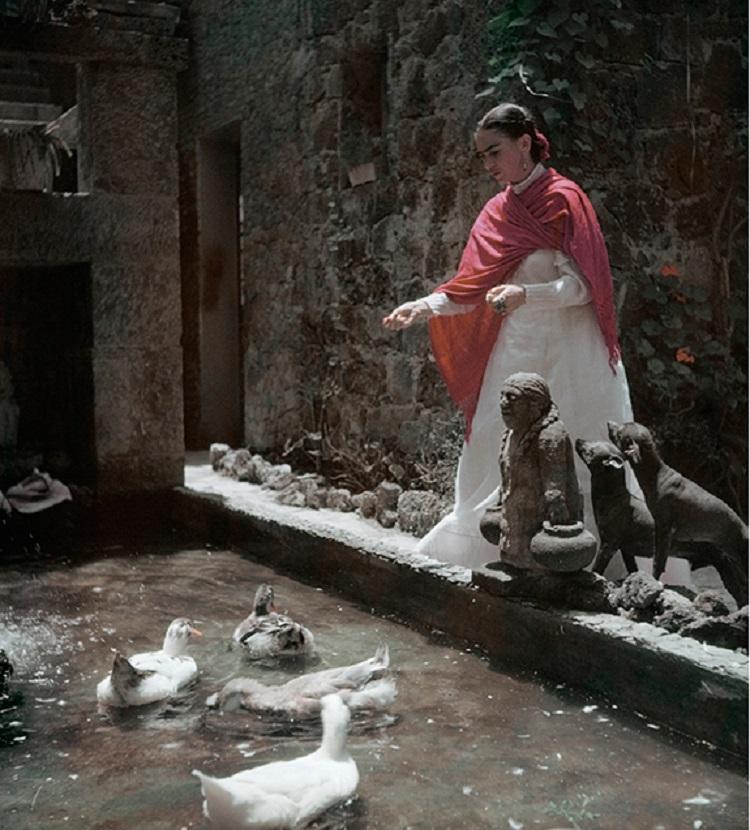 gisele freund frida kahlo mexiko stadt 1949