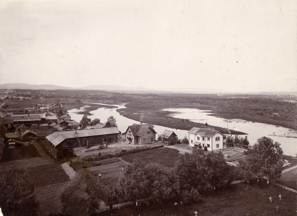 Zorngården 1895 Foto Zornsamlingarna