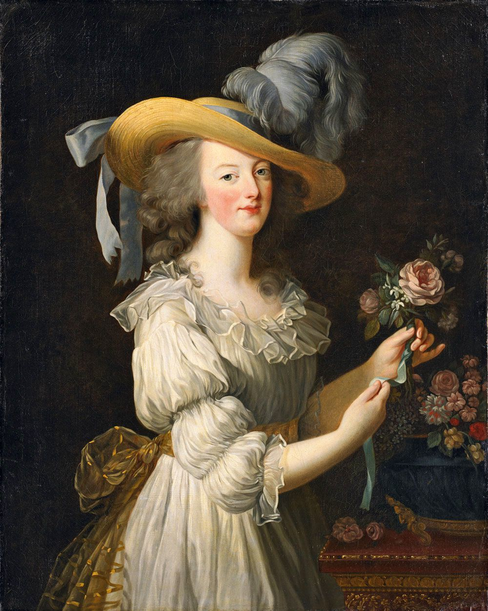 Élisabeth Vigée Le Brun, 'Marie Antoinette en chemise', 1783, oil on canvas. Photo: Racked
