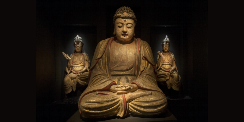 Buddha, Kina, sen Yuan/tidig Ming-era. Visas hos Vanderven Oriental Art. Bildcredit: Harry Heuts.
