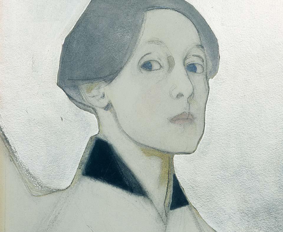 Självporträtt. Bild: Schirn Kunsthalle Frankfurt