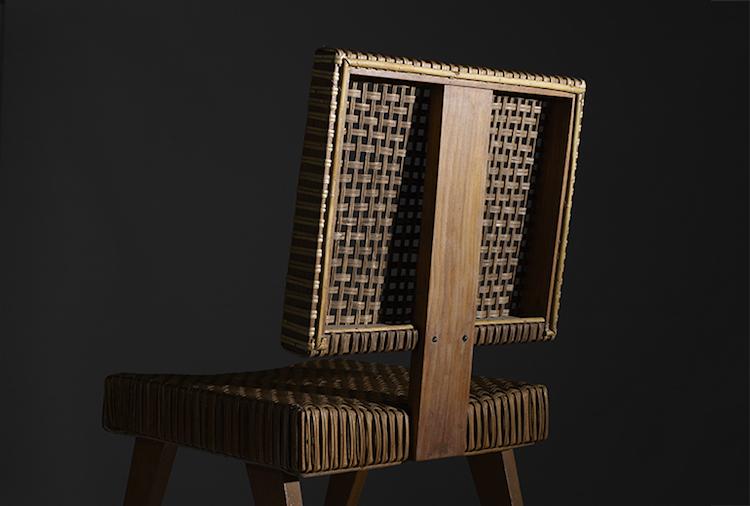 Jämte Axel Einar Hjorth är Pierre Jeanneret en av världens absolut hetaste möbelformgivare just nu. Det här är ryggen på en av ett par mycket ovanliga stolar som formgavs till Yves Korbendau residens i Rabat i Marocko. Kommer direkt från familjen till auktionen. Utrop 20-30 000 dollar