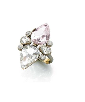 Deux diamants des mines de Golconde Estimation : 40 000/60 000 €