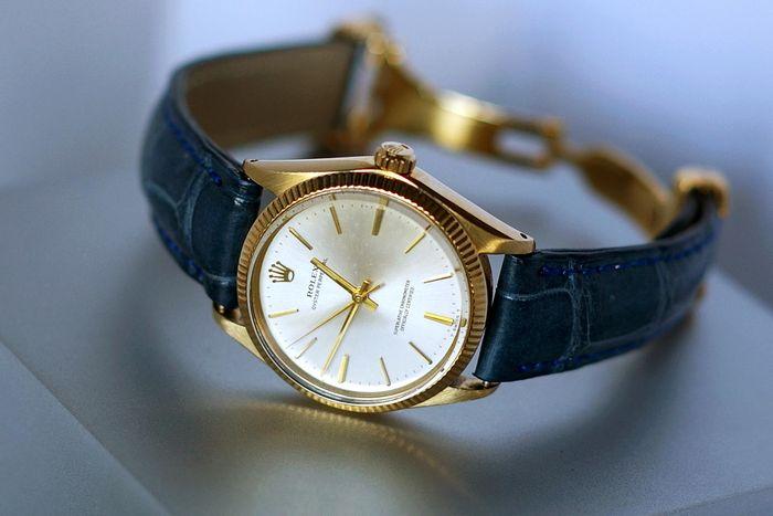 ROLEX - Oyster Perpetual Unisex-Armbanduhr - 1967 Schätzpreis: 3.200-4.200 EUR Ergebnis: 2.900 EUR