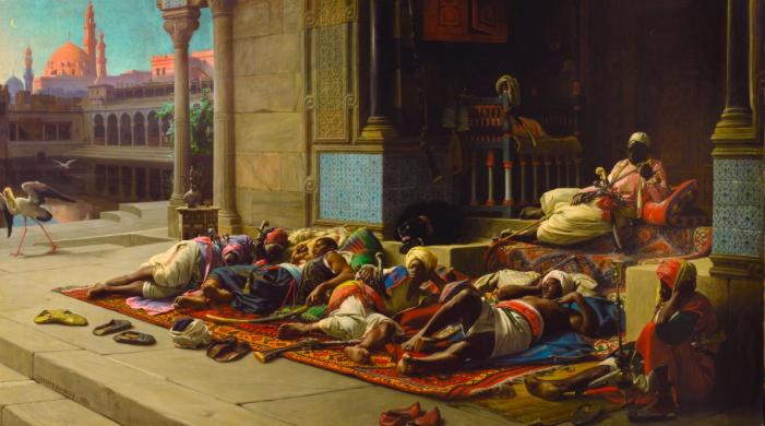 Jean Lecomte du Nouÿ, The Harem's Gate, Souvenir of Cairo. Foto: Sotheby's.