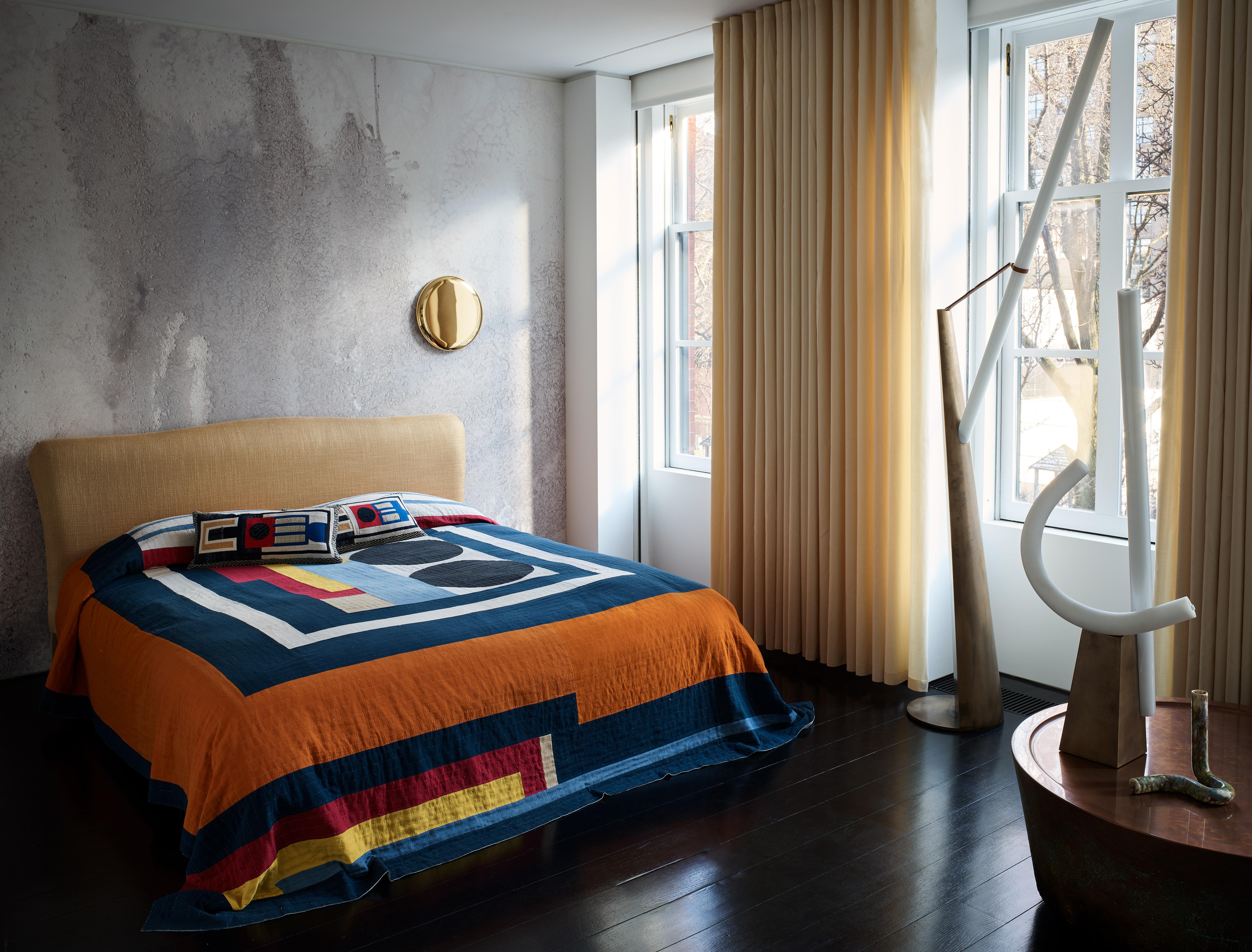 The bedroom in Casa Perfect New York. Image: Douglas Friedman