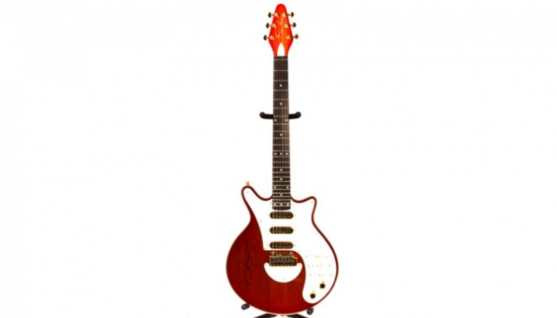 Guitarra Red Special de BRIAN MAY. Firmada