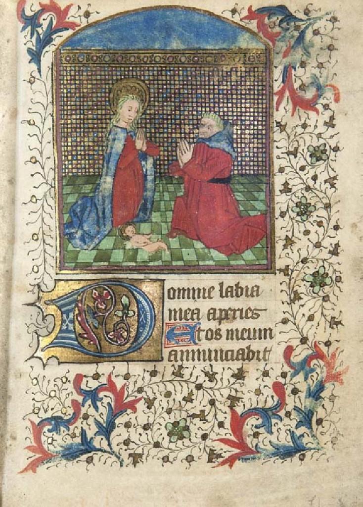 Lateinisches Stundenbuch für den Gebrauch in Limoges, Frankreich, Anfang 15. Jahrhundert
