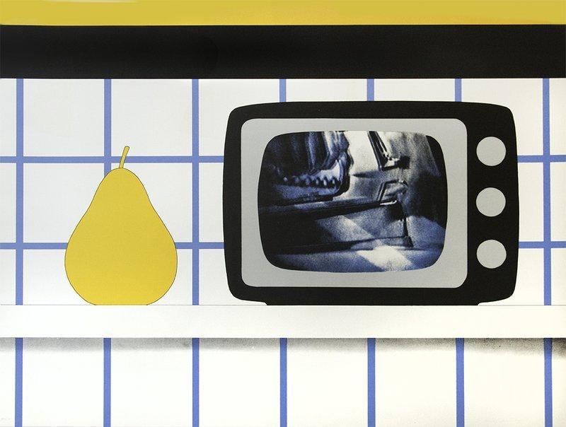 TOM WESSELMANN, TV Still Life (från 11 Pop Artists, Volume III).