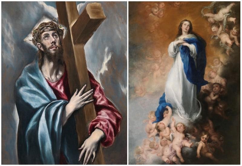 El Greco y Murillo