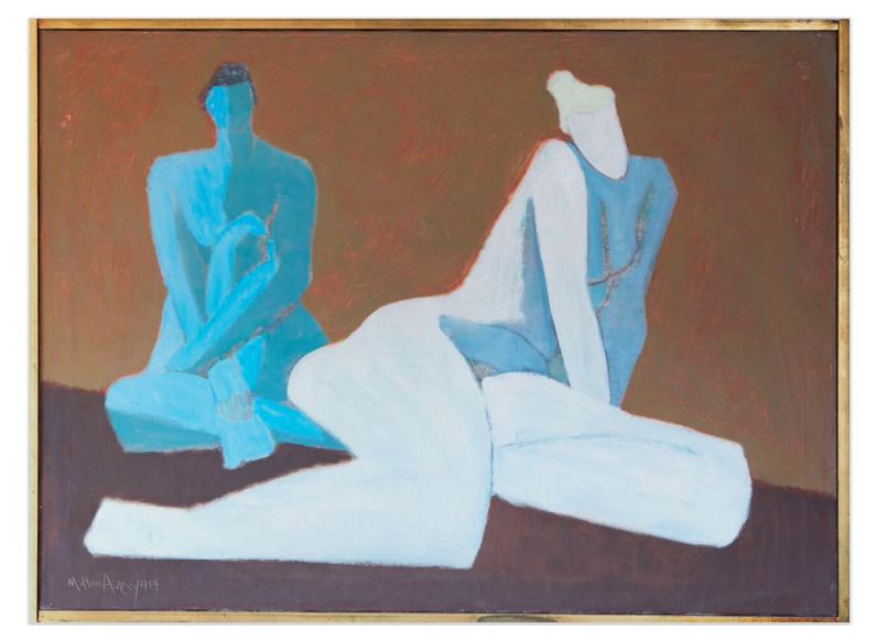 Milton Avery, Two Nudes