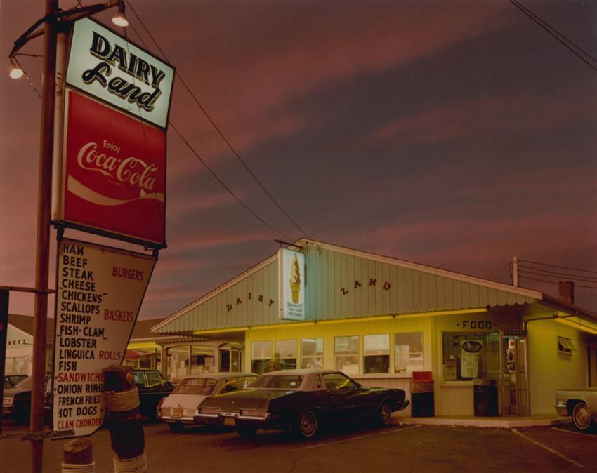 Joel Meyerowitz, Dairyland, Provincetown, 1976