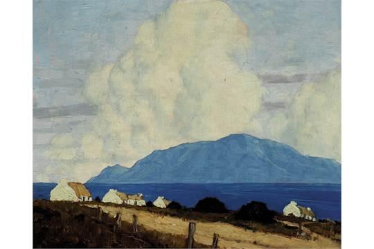 Paul Henry RHA, West of Ireland Landscape, 1925-1935