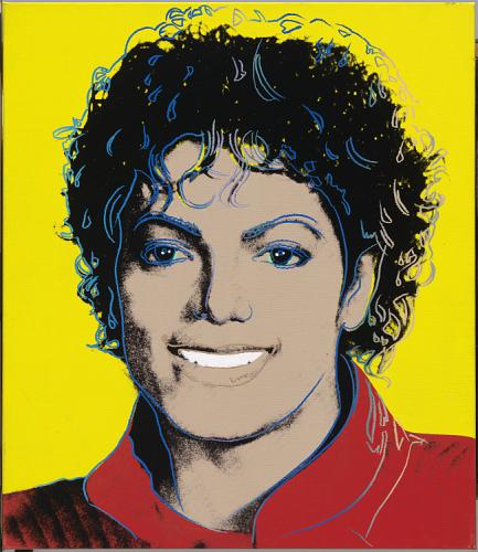 Andy Warhol, Michael Jackson, 1984Image: National Portrait Gallery