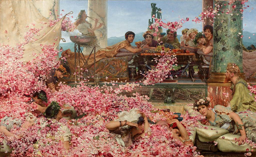 Sir Lawrence Alma-Tadema Les Roses d'Héliogabale, 1888