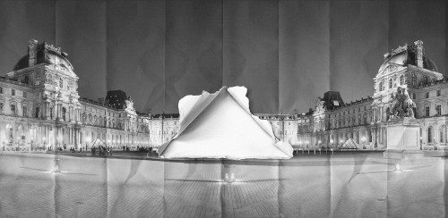 Le Louvre par JR © JR-ART.NET
