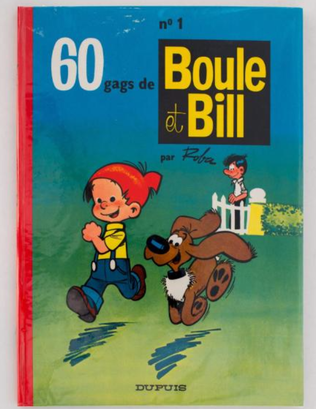 Boule et Bill 1, Édition originale de 1962