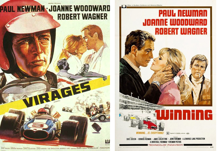 Affiches française et originale du film Virages