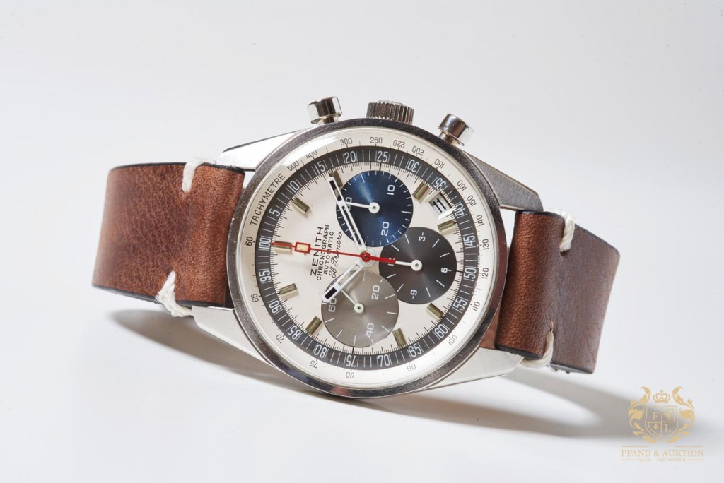 ZENITH - El Primero Vintage Chronograph, Acier, 1969